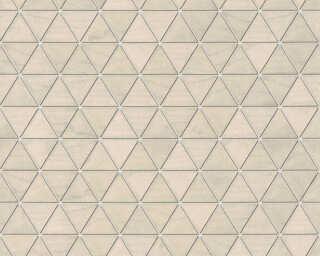 Lutèce Wallpaper «Wood, 3D, Beige, Brown, Grey, Metallic» 366223