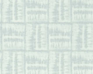 A.S. Création papier peint «Graphique, blanc, bleu» 366373