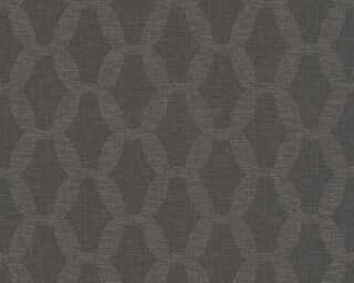 A.S. Création Обои «Текстиль, Черные» 366384