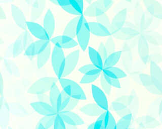 Esprit Home Wallpaper «Flowers, Blue, Green, Turquoise» 366743