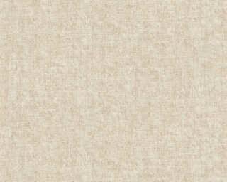 A.S. Création Wallpaper «Uni, Cream, Metallic» 366891
