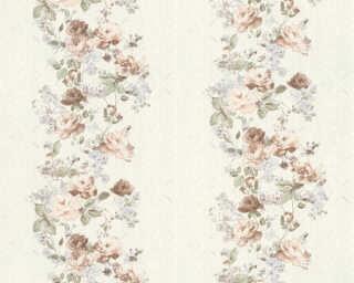 A.S. Création Tapete «Grafik, Floral, Blau, Grün, Rosa» 366902