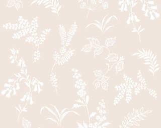 A.S. Création Tapete «Blumen, Creme» 366931