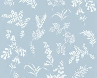 A.S. Création экологичные обои «Цветы, Белые, Синие» 366934