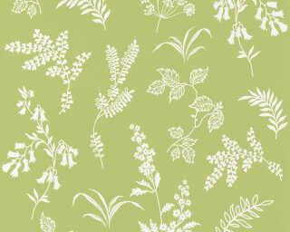 A.S. Création Tapete «Blumen, Grün, Weiß» 366935