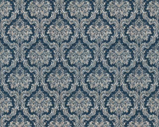 A.S. Création Wallpaper «Baroque, Beige, Blue, Gold, Metallic» 366973