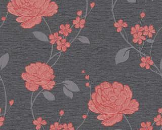 A.S. Création Tapete «Blumen, Metallics, Rot, Schwarz» 367013