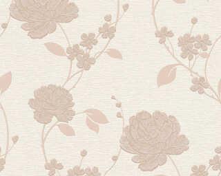 A.S. Création Tapete «Blumen, Beige, Braun, Metallics» 367014