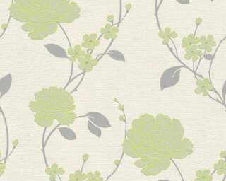 A.S. Création Tapete «Blumen, Beige, Grün, Metallics» 367015
