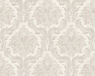 Livingwalls Wallpaper «Baroque, Beige, Grey» 367161