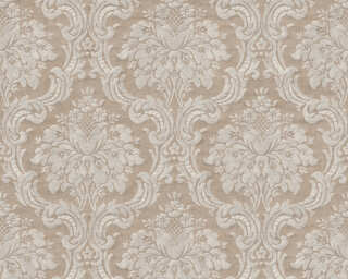Livingwalls Wallpaper «Baroque, Beige, Brown» 367163