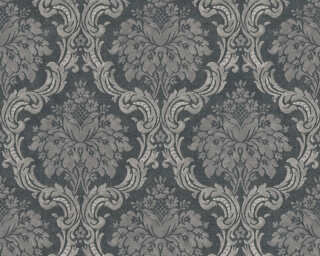 Livingwalls Wallpaper «Baroque, Black, Grey» 367166