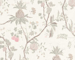 Livingwalls Wallpaper «Wood, Cottage, Beige, Brown, Grey, Red» 367191