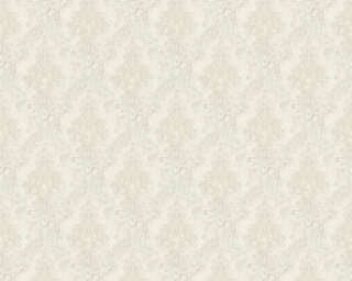 A.S. Création Wallpaper «Fabric, Cream, White» 367321