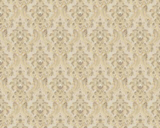 A.S. Création Wallpaper «Fabric, Beige, Cream» 367322