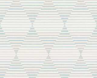 A.S. Création Обои «Графика, Бежевые, Белые, Серыe, Синие» 367572