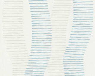 A.S. Création Обои «Графика, Белые, Серыe, Синие» 367581