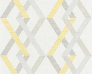 A.S. Création Обои «Графика, Бежевые, Белые, Желтыe, Серыe» 367592