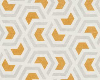 A.S. Création Обои «Графика, Белые, Коричневыe, Оранжевые, Серыe» 367602