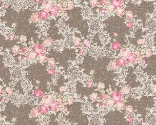 A.S. Création Tapete «Floral, Braun, Creme, Rosa» 367683