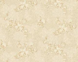 A.S. Création Tapete «Floral, Beige, Creme, Gold, Metallics» 367685