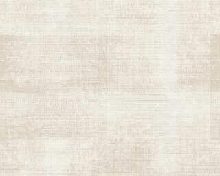 A.S. Création papier peint «Textile, beige, blanc, crème» 367731