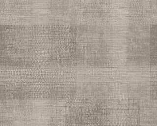 A.S. Création papier peint «Textile, beige, marron» 367737