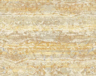 A.S. Création Wallpaper «Stone, Beige, Cream, Yellow» 367743
