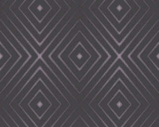 A.S. Création Wallpaper «Graphics, 3D, Black, Metallic, Purple» 367853
