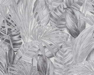 A.S. Création Wallpaper «Jungle, Black, Grey, White» 368203