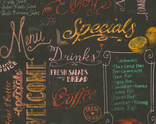 Livingwalls panneau «Graphique, beige, crème, marron, multicolore» 368351