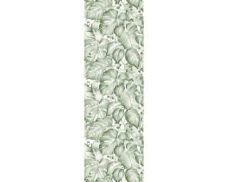 Livingwalls Designpanel «Dschungel, Beige, Braun, Creme, Grün» 368391