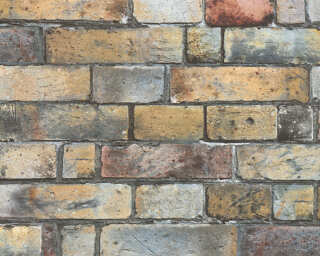 Livingwalls Designpanel «Stein, Landhaus, Beige, Braun, Creme» 368501
