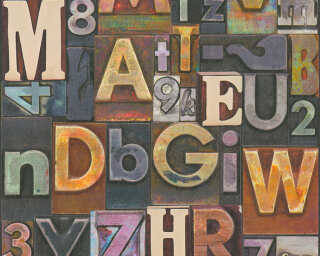 A.S. Création Tapete «Holz, 3D, Beige, Blau, Braun, Creme» 368711