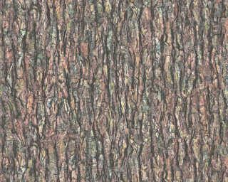 A.S. Création Wallpaper «Wood, Cottage, Beige, Black, Brown, Green» 368721