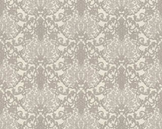 A.S. Création Wallpaper «Baroque, Grey, Metallic, Silver, White» 368863