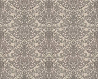 A.S. Création Wallpaper «Baroque, Grey, Metallic, Silver» 368864