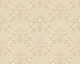 A.S. Création Wallpaper «Baroque, Beige, Cream, Gold, Metallic» 368865
