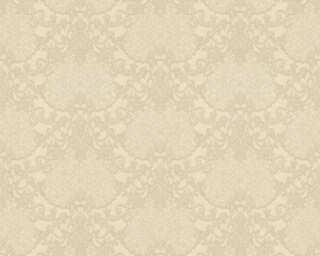 A.S. Création papier peint «Baroque, beige, crème, métallique, or» 368865