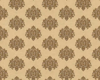 A.S. Création Wallpaper «Baroque, Cream, Gold, Metallic» 368871