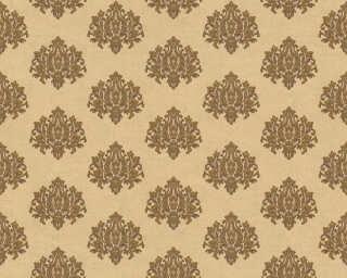 A.S. Création papier peint «Baroque, crème, métallique, or» 368871