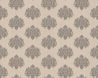 A.S. Création Wallpaper «Baroque, Grey, Metallic, Silver» 368873