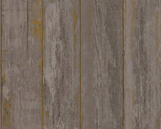 A.S. Création Wallpaper «Wood, Cottage, Black, Brown» 368932