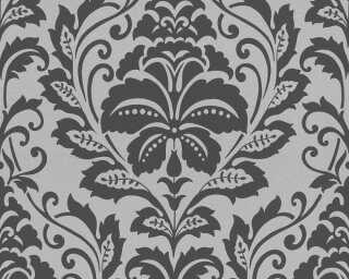 A.S. Création Tapete «Barock, Schwarz, Silber» 369102