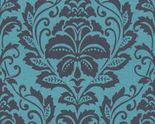 A.S. Création Обои «Барокко, Синие, Черные» 369105