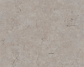 Livingwalls Wallpaper «Uni, Brown, Grey» 369111