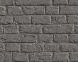 Livingwalls Wallpaper «Stone, Cottage, 3D, Black, Grey» 369121