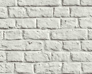 Livingwalls Wallpaper «Stone, Cottage, 3D, Grey, White» 369122