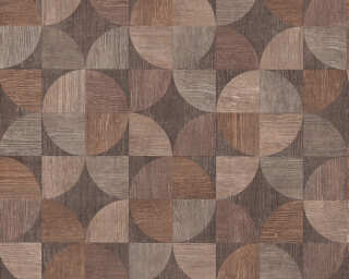 Livingwalls Wallpaper «Wood, Beige, Brown, Grey» 369131