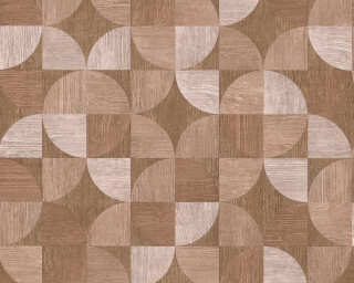 Livingwalls Wallpaper «Wood, Beige, Brown, Red» 369134